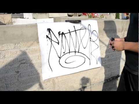 como hacer un marker escurridor (graffiti)