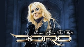 """DORO  """"Love's gone to hell"""" OFFICIAL VIDEO"""