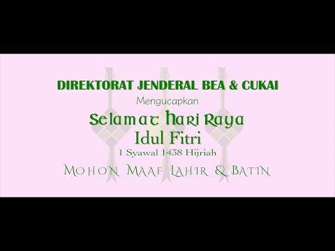 Selamat Hari Raya Idul Fitri 1438 Hijriah