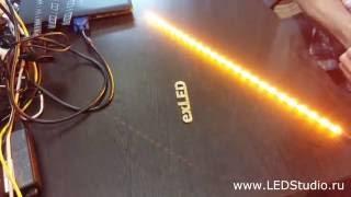 Как сделать динамические светодиодные повороты на платах DB-17, DB-18, DB-19