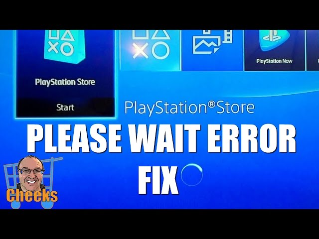 Ps4-store-not-working
