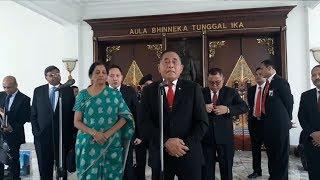 Menhan RI Terima Kunjungan Kehormatan Menhan India, 4 Poin Dibicarakan Termasuk Soal Terorisme