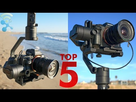 5 BEST Cheap Handheld Gimbal Stabilizer For DSLR's [Canon Nikon Sony Panasonic...]