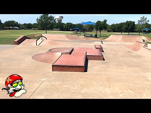 Watauga Skatepark in North Fort Worth