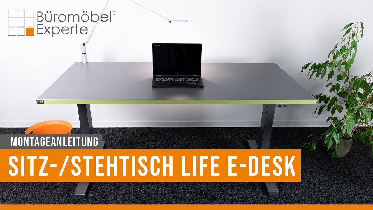 Video zum Sitz-/Stehtisch LifeE-Desk