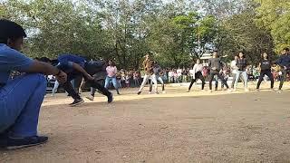 SHRUTHI 2K19 Flashmob @CBIT