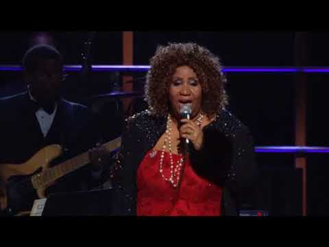 "Aretha Franklin Performs ""Baby I Love You"" at the 25th Anniversary Concert"