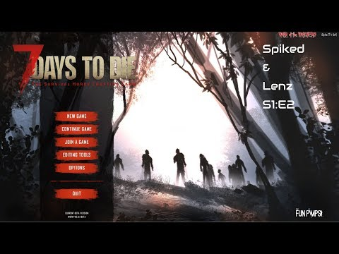 Spiked and Lenz take on 7DTD WoW mod S1 E2 - Bat Bats and Bats