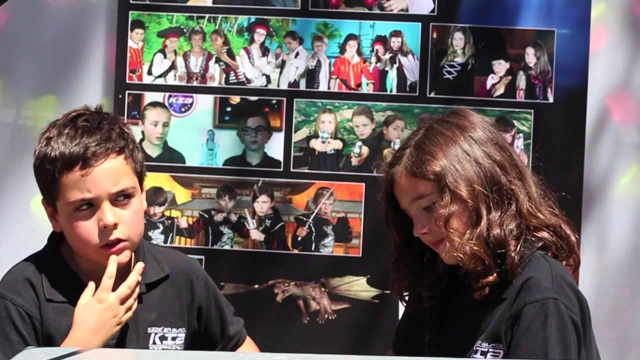 Entrevistas con los Kids in Black - Lorena entrevista a Pablo