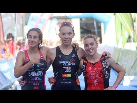 Bronce de Ana Mariblanca y bronce de los sub23 del TeamClaveria por equipos en el Cto de España de Triatlón Élite FETriACoruña