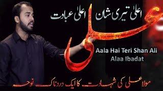 Syed Ali Murtaza Naqvi New Noha - Chaya Holay Holay Pak Ali - Самые
