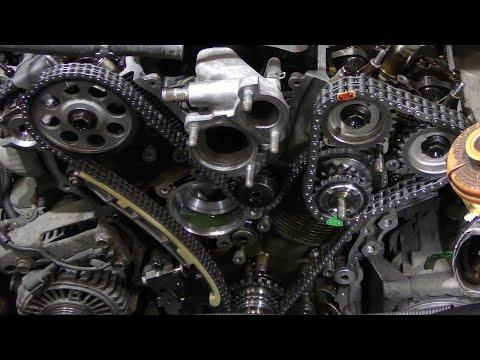 Замена ГРМ SUZUKI Grand Vitara двигатель H27A , Метки грм Гранд Витара