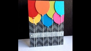 Handmade Birthday Card Idea-1