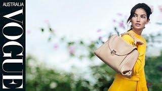 Salvatore Ferragamos Spring Campaign Starring Lily Aldridge