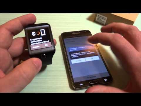 Samsung Gear 2 Neo: video unboxing, primo avvio e connessione