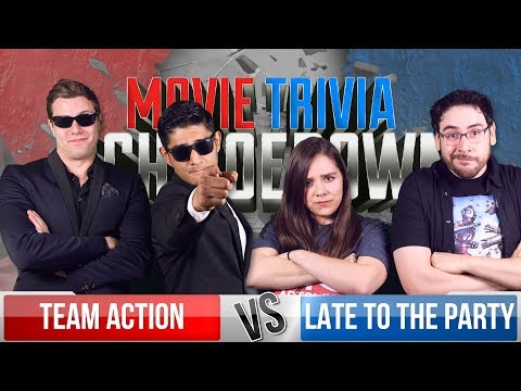 Team Action VS Late to the Party - Movie Trivia Team Schmoedown
