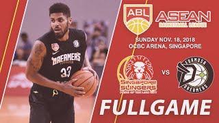 Singapore Slingers vs Formosa Dreamers | LIVE NOW | 2018-2019 ASEAN Basketball League