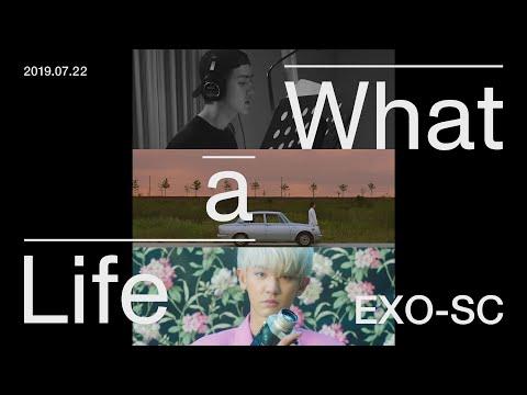 "EXO-SC 세훈&찬열 ""What a life"" Triple Title MV Trailer"