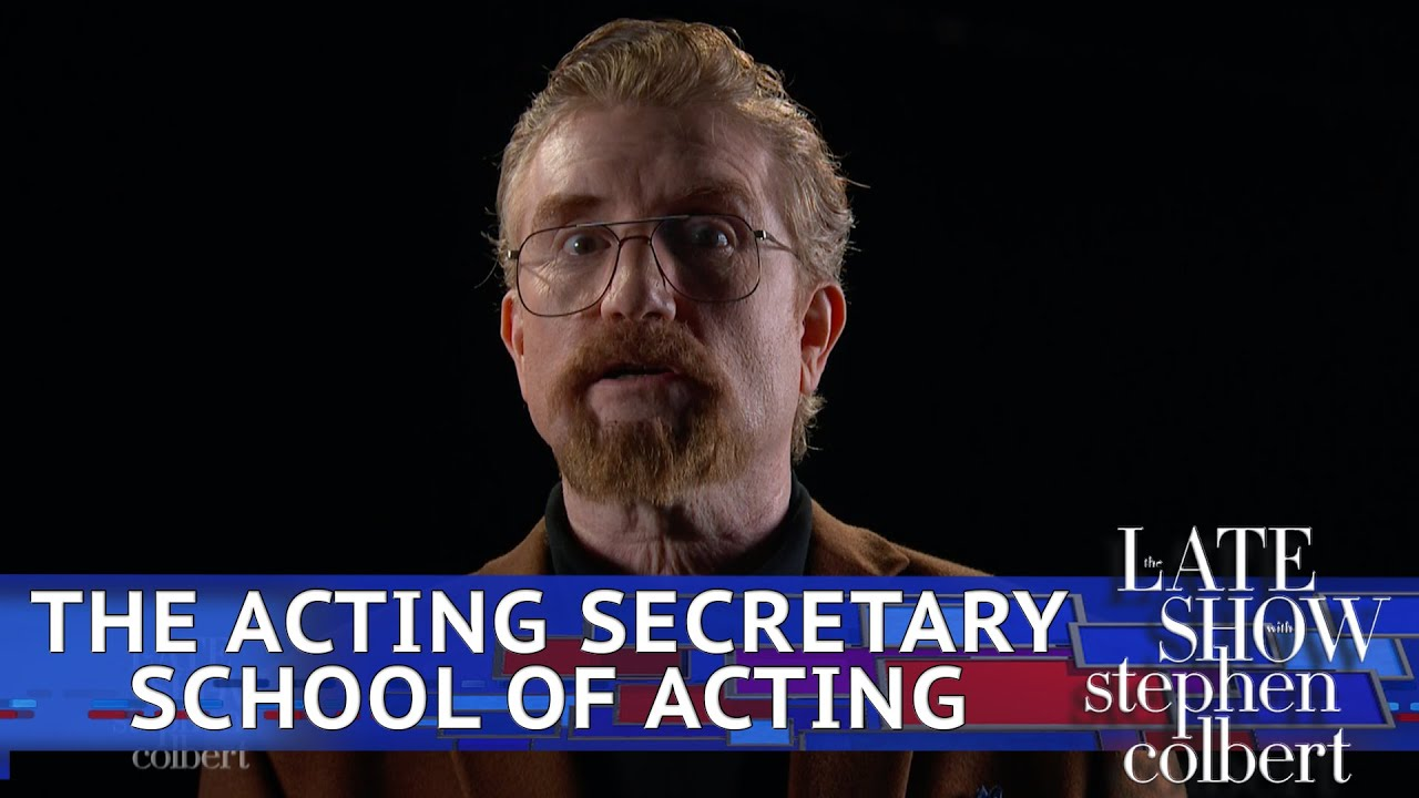 The Acting Secretary School Of Acting: Back In Session thumbnail