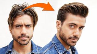 Best Men's Hairstyle W/ Longer Sides 2020 | Classic Quiff For Men | Alex Costa