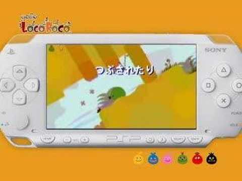 Видео № 0 из игры Loco Roco (Б/У) [PSP]