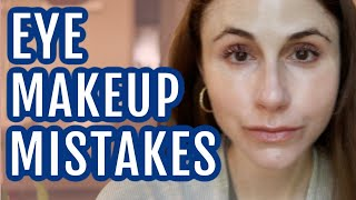 Top 10 Eye Makeup Mistakes  Dr Dray