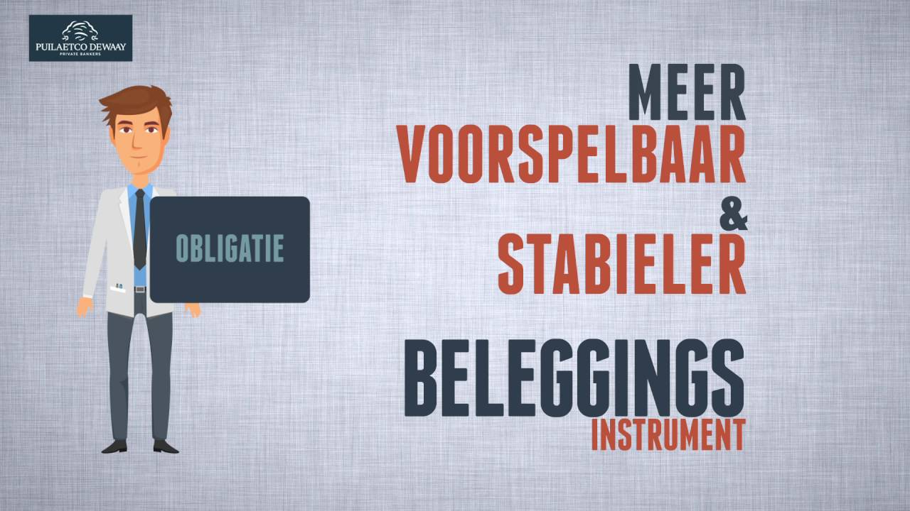 Beleggen in Obligaties