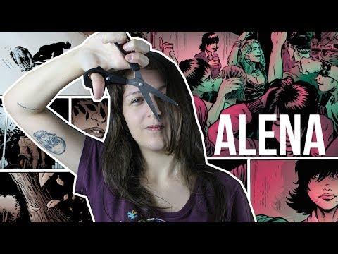 ALENA, UMA HQ DE TERROR & AMOR | Pipoca Musical