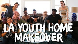 Cozy Living Room for LA Youth Network | Breaking Beige | Mr. Kate