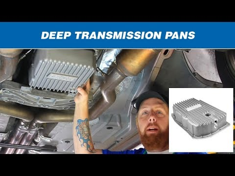 Features & Benefits of B&M Hi-Tek Deep Transmission Pans