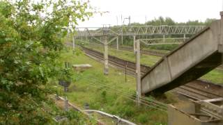 preview picture of video 'Ditton Junction 24.5.2014 - a look around the ghost station near Widnes'