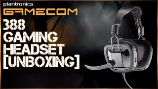 Plantronics Gamecom 388 Gaming Headset Unboxing