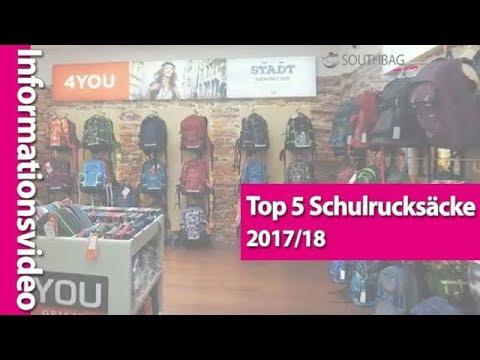 Top 5: Die besten Schulrucksäcke der Saison 2017/2018