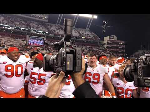 TigerNet: Clemson 34 SC 10: Tigers celebrate win with alma mater