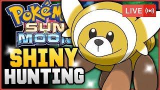 Stufful  - (Pokémon) - Pokémon Sun & Moon LIVE Shiny Hunting! Hunting For Shiny Stufful! w/ HDvee