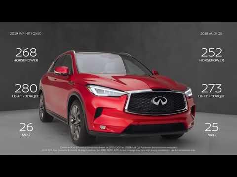 New 2019 INFINITI QX50 PURE AWD