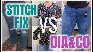 STITCH FIX VS. DIA&CO #2 | WHAT HAPPENS WHEN I REQUEST THE SAME THING | Taren Denise