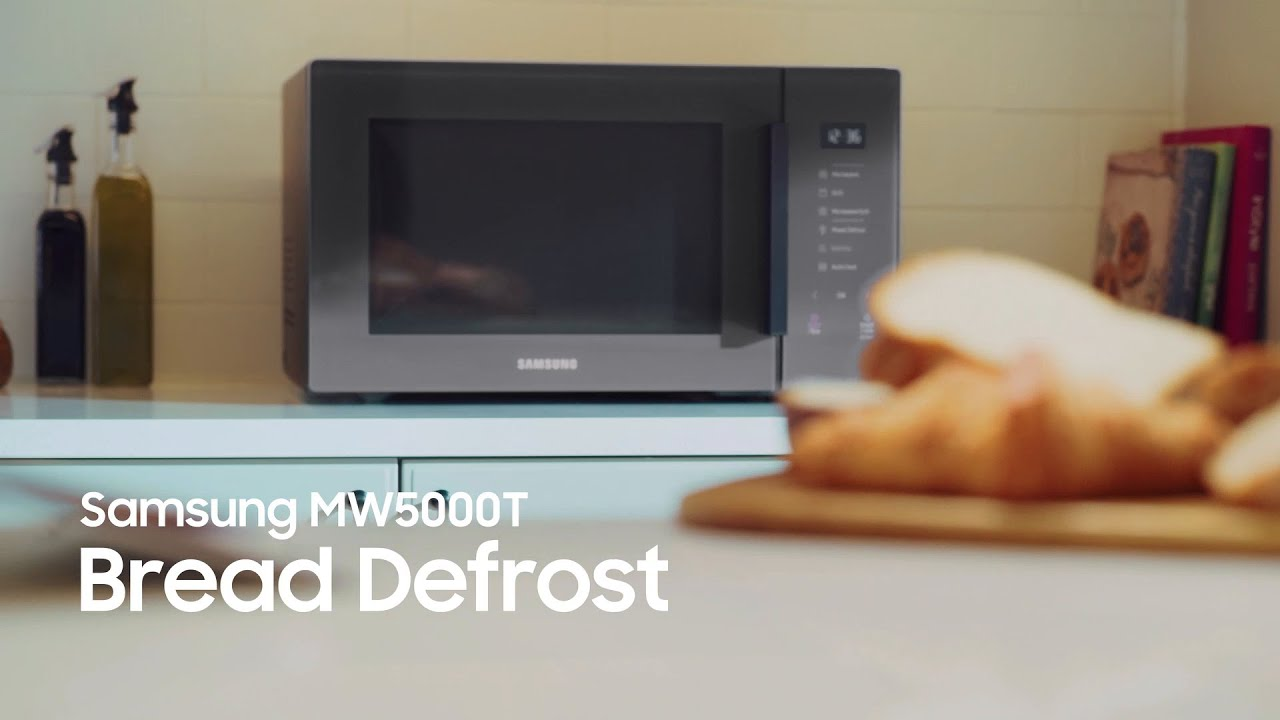 Samsung Microwave Oven: Bread Defrost thumbnail