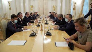 Հայաստանի ԱԳ նախարար Արարատ Միրզոյանը հանդիպում է ունեցել Ռուսաստանի ԱԳ նախարար Սերգեյ Լավրովի հետ