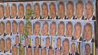 """Снос «дома с портретами Назарбаева» / """"Назарбаев бейнесіне"""" тимей үй күреу"""