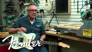 Chris Fleming:  A talented guy who has worn many hats at Fender!
