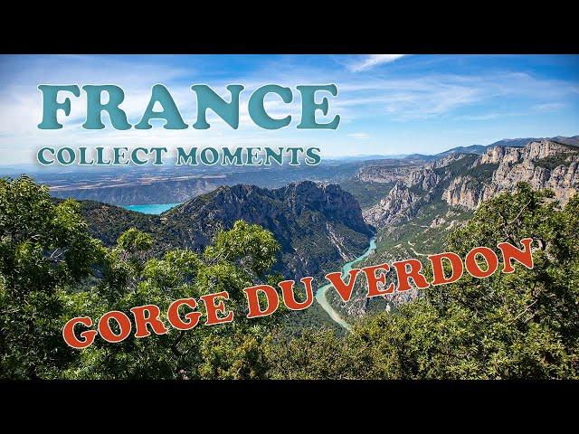 Gorges du Verdon - Brommer rijden en varen