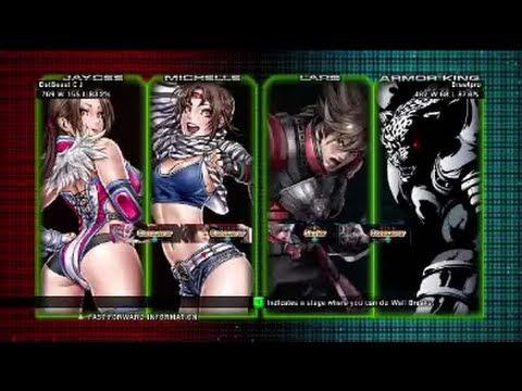 Tekken Tag Tournament 2 : DatBeast C J ( Michelle X Jaycee ) VS Brawlpro (  Lars X Armor King ) - PIKACHUAKUMA