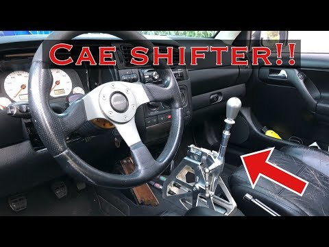 Epic CAE shifter in a VR6!!