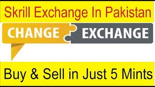 Skrill Exchange in Pakistan | Buy and Sell E Currency in just 5 Mints | Tani Forex online service