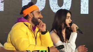 Alia Bhatt BLUSHES When Ranveer Singh OPENLY Teases Her With Bf Ranbir Kapoor