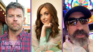 Dave Holmes, Rob Riggle and Megan Gailey on Thursday's w/ Rob & Paul is MIA