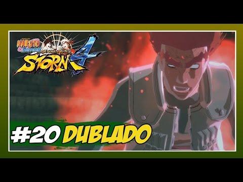 Naruto Ninja Storm 4 - Modo História Dublado - #20 - A Fera Carmesim, Might Guy Portão da Morte