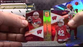 9 Box NFL Serial #d Box Break