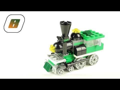 Vidéo LEGO Creator 4837 : Mini trains